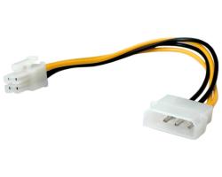 Roline interni naponski kabel, 4-pin HDD - 4-pin Power