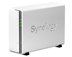 Synology DS115j DiskStation 1-bay NAS server, 2.5