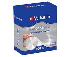 Verbatim CD/DVD papirnate košuljice (pakiranje 100 kom.)