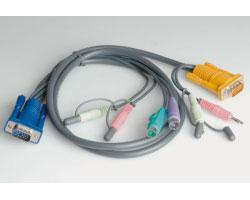 Roline komplet kabela za monitor/miš/tipkovnicu PS/2, 1.8m (za 14.01.3285/3286)