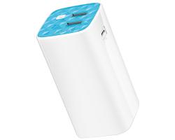 TP-Link Power Bank 10400mAh, 2×USB, 1×micro USB, ugrađena svijetiljka