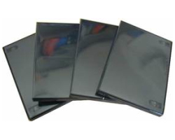 DVD-BOX crni