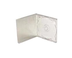 CD-BOX Slim, čisto prozirni (pakiranje 5 komada)