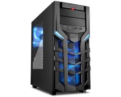 Cratos GAMER - Midi Tower 700W, Intel Core i7, S.1151, 16GB DDR4 RAM, 240GB SSD + 1TB HDD, GeForce GTX1050, DVD+/-RW DL, Razer tipkovnica + miš