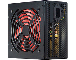 Xilence 500W RedWing R7 Edition, ATX 2.3.1, pasivan PFC, 1×PCIe, 4×SATA, 20+4-pina, 120mm ventilator, crno