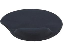 KONIG podloga za miša sa silikonskim uporištem, crna