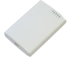 Mikrotik RB750P-PBr2 PowerBox, QCA9531 650MHz CPU, 64MB RAM, 5×LAN, RouterOS L4, vanjsko kućište, PSU, PoE