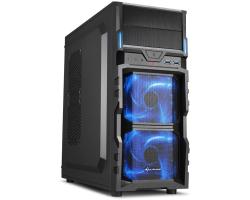Sharkoon VG5-V Midi Tower ATX kućište, bez napajanja, crno