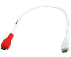 Roline VALUE USB2.0 kabel za punjenje TIP Micro B(M) - Micro B(M), 0.3m