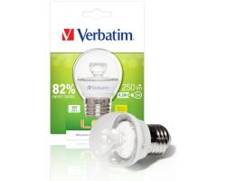 Verbatim LED žarulja E27, 4.5W, 250lm, 2700K, Mini Globe