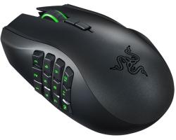 Razer Naga Chroma laserski igraći miš, USB, crni