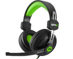 Sharkoon Rush ER2 stereo slušalice sa mikrofonom, crno-zelene