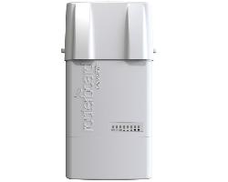 Mikrotik BaseBox 5, RB912UAG-5HPnD-OUT, 600Mhz Atheros CPU, 64MB RAM, 1xGigabit LAN, USB, miniPCIe, 5Ghz 802.11a/n 2x2 two chain wireless, 2× RP-SMA konektori, RouterOS L4, vanjsko kučište, POE, PSU