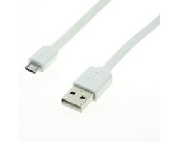 Roline USB2.0 kabel TIP A(M) na Micro B(M), bijeli, 1.0m