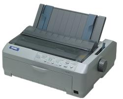 Epson LQ-590, 24-pin, A4, 400zn/s, 1+4 kopije, USB/LPT
