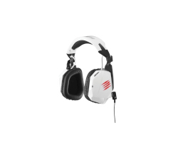 MadCatz Cyborg F.R.E.Q.3 stereo igraće slušalice s mikrofonom, bijele