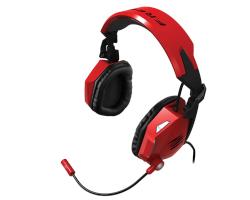 MadCatz Cyborg F.R.E.Q.5 stereo igraće slušalice s mikrofonom, crvene