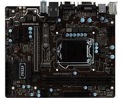 MSI MB B250M PRO-VD, S.1151, iB250 DDR4/2400, PCIe, D-Sub/DVI, S-ATA3, G-LAN, USB3.1, 8ch., mATX