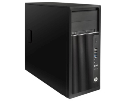 HP Z240 Workstation PC, Intel Xeon E3-1245v5, 8GB DDR4, 256GB SSD, DVD+/-RW DL, Intel HD Graphics, G-LAN,  Windows 10 Pro 64-bit + tipkovnica+miš