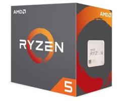 AMD Ryzen 5 4C/8T 1500X (3.60/3.70GHz boost), Socket AM4, 18MB cache, 65W