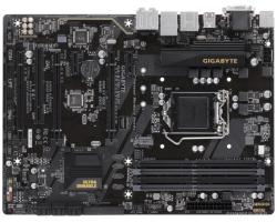 GigaByte MB B250M-HD3P, S.1151, iB250, DDR4/2400, PCIe, D-Sub/DVI/HDMI, S-ATA3, G-LAN, USB3.1, 8ch., ATX
