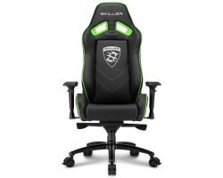 Sharkoon Skiller SGS3, igraća stolica, crno-zelena
