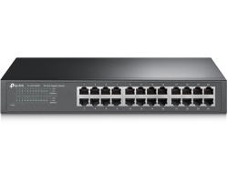 TP-Link 24-port Gigabit preklopnik (Switch), 24×10/100/1000M RJ45 ports, 13
