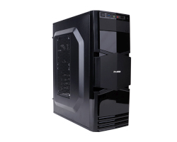 CRATOS OFFICE i3 - Midi Tower 400W - Intel Core i3 CPU, S.1151, iH110, 4GB DDR4, 1TB HDD, HD grafika, DVD+/-RW, Windows 10 Pro