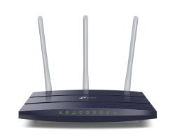 TP-Link bežični usmjerivač (Router) Atheros, ugrađen 4-port Gigabit preklopnik (Switch), 3T3R, 2.4GHz, 802.11n/g/b, 3× fiksna 5dBi antena