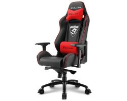 Sharkoon Skiller SGS3, igraća stolica, crno-crvena