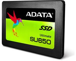 ADATA 240GB SSD SU650 SATA 3D Nand, R/W: 520/450MB/s (ASU650SS-240GT-C)