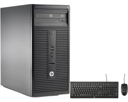 HP ProDesk 280 G2 MT PC, Intel Core i5-6500, 4GB DDR4, 256GB SSD, DVD+/-RW, Intel HD Graphics, G-LAN, USB3.0/DVI, Win 10 Pro + tipkovnica/miš