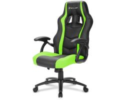 Sharkoon Skiller SGS1, igraća stolica, crno-zelena