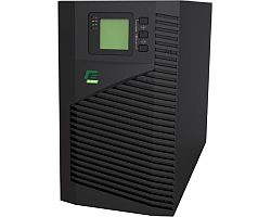 Elsist UPS Mission 1000VA/800W, On-line double conversion, DSP, surge protection, LCD