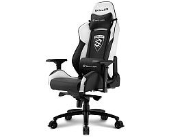 Sharkoon Skiller SGS3, igraća stolica, crno-bijela