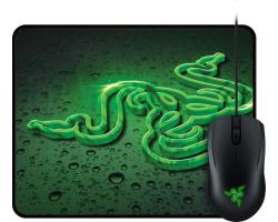 Razer Abyssus 2000 optički igraći miš, USB, crni + Goliathus Speed Terra podloga za miša, bundle
