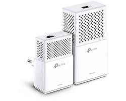 TP-Link AV1300 Powerline bežični mrežni adapter, 300Mbps/867Mbps (2.4GHz/5GHz), 2×2 MIMO, 3×GLAN, HomePlug AV, Plug and Play, dodatna strujna utičnica, (TL-PA8010P & TL-WPA8630P)