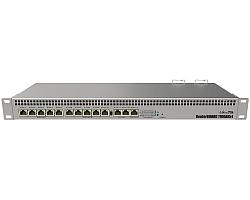 Mikrotik RouterBOARD RB1100AHx4, Annapurna Alpine AL21400 Cortex A15 CPU (4-cores, 1.4GHz/core), 1GB RAM, 13xGbit LAN, RouterOS L6, 1U rackmount kućište, Dual PSU