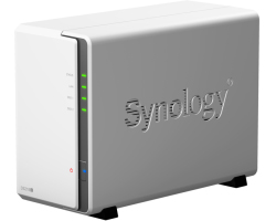 Synology DS218j DiskStation 2-bay NAS server, 2.5