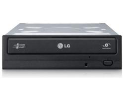 LG DVD+/-RW DL 24× S-ATA, Black, bulk (GH24NSD1)