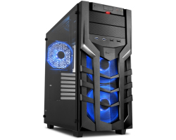 Sharkoon DG7000-G RGB Midi Tower ATX kućište, bez napajanja, crno