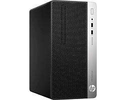 HP ProDesk 400 G4 MT PC, Intel Core i3-7100, 4GB DDR4, 256GB SSD, Intel HD Graphics 630, G-LAN, USB3.1/DP, Windows 10 Pro + tipkovnica/miš