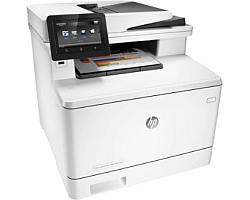 HP Color LaserJet Pro 400 MFP M477fdw Print/Scan/Copy/Fax/Email, A4, 600×600, 28/28str./min. black/color, duplex, 256MB, USB2.0/G-LAN/WiFi