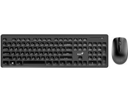 Genius Slimstar 8006 bežična tipkovnica+miš, USB, crna