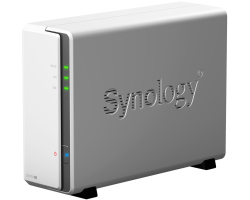 Synology DS119j DiskStation 1-bay NAS server, 2.5