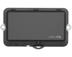 Mikrotik RB912R-2nD-LTm&R11e-LTE (LtAP mini LTE kit), 650MHz CPU, 64MB RAM, 1xLAN, 2.4Ghz 802.11b/g/n Dual Chain, integrirana antena, LTE modem, GPS, Dual-SIM, RouterOS L4, vanjsko kučište, PSU
