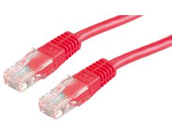 Roline VALUE UTP mrežni kabel Cat.6, 0.5m, crveni