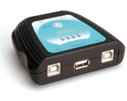 Roline VALUE printer preklopnik 4-portni USB2.0, manualni