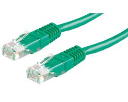 Roline VALUE UTP mrežni kabel Cat.6, 1.0m, zeleni
