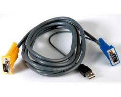 Roline VALUE KVM kabel (USB), 3.0m (za 14.99.3222/3223)